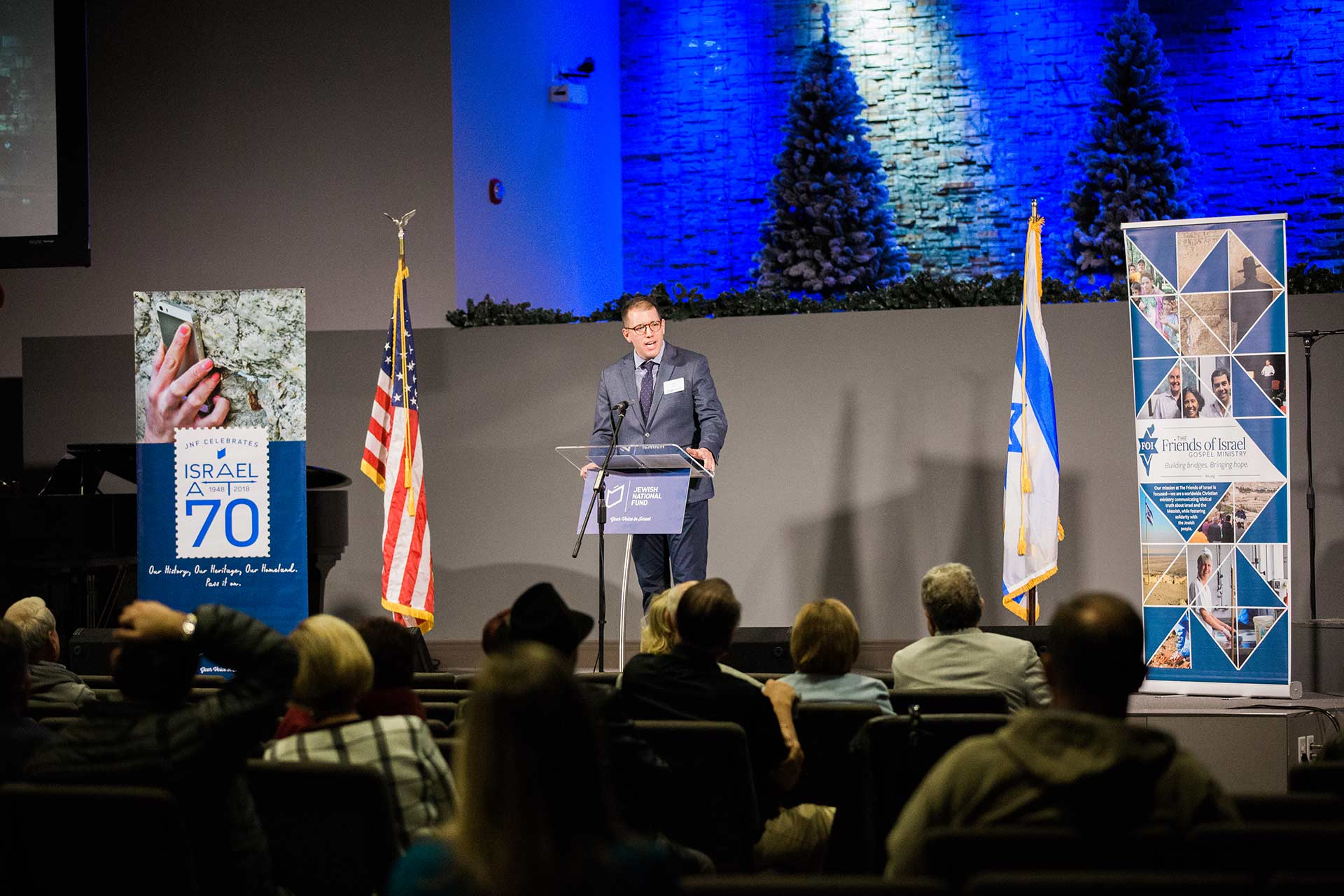 Non-Profit Event Photography: Thank God For Israel Night